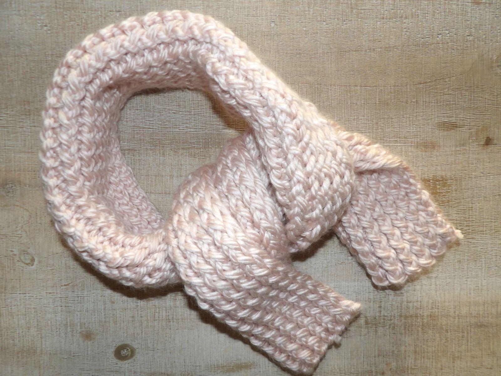 passion tricot, écharpe, tricot