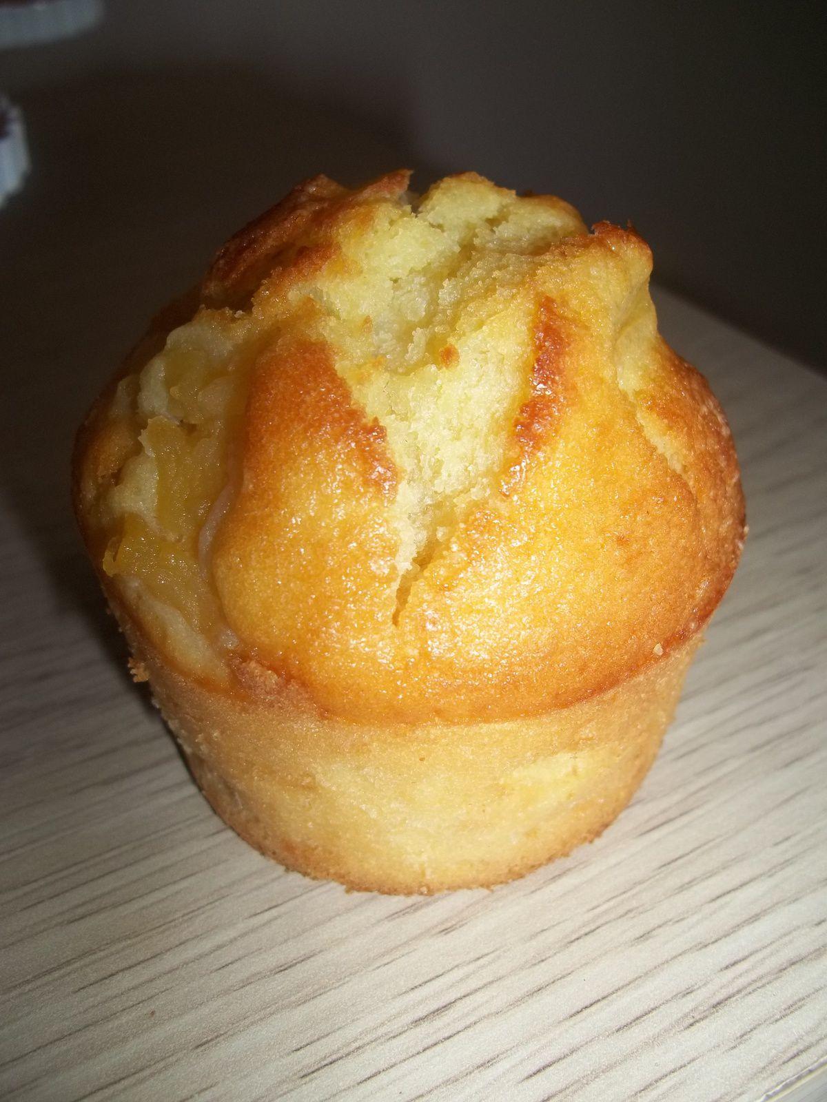 muffins aux pommes, recette facile et rapide