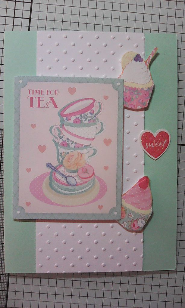1 kit , 10 cartes : Crafty Ola Store Juin 2018