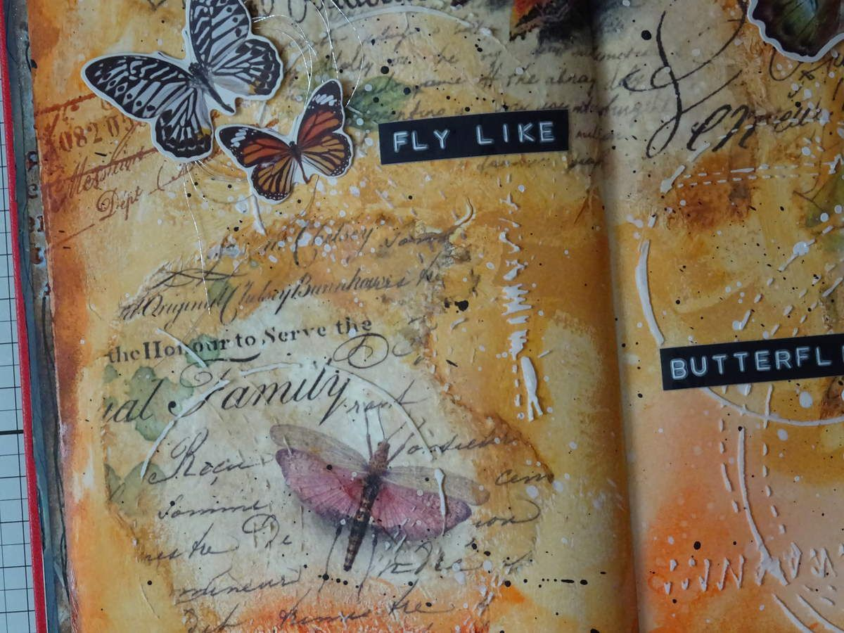 Art Journal: Fly like Butterflies