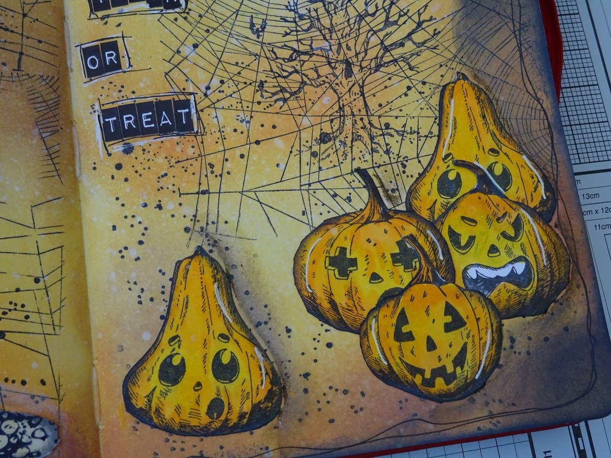 Art journal: halloween