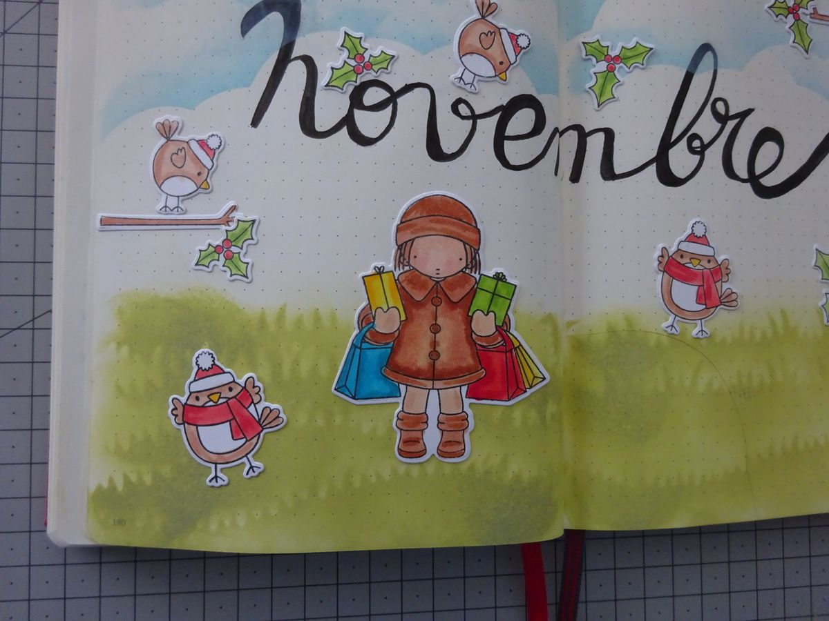 Plan with me Novembre Bullet Journal