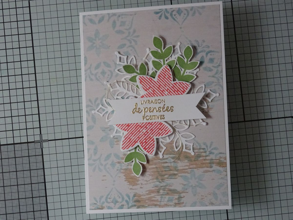 Collection Vitrine de flocons : carte #1