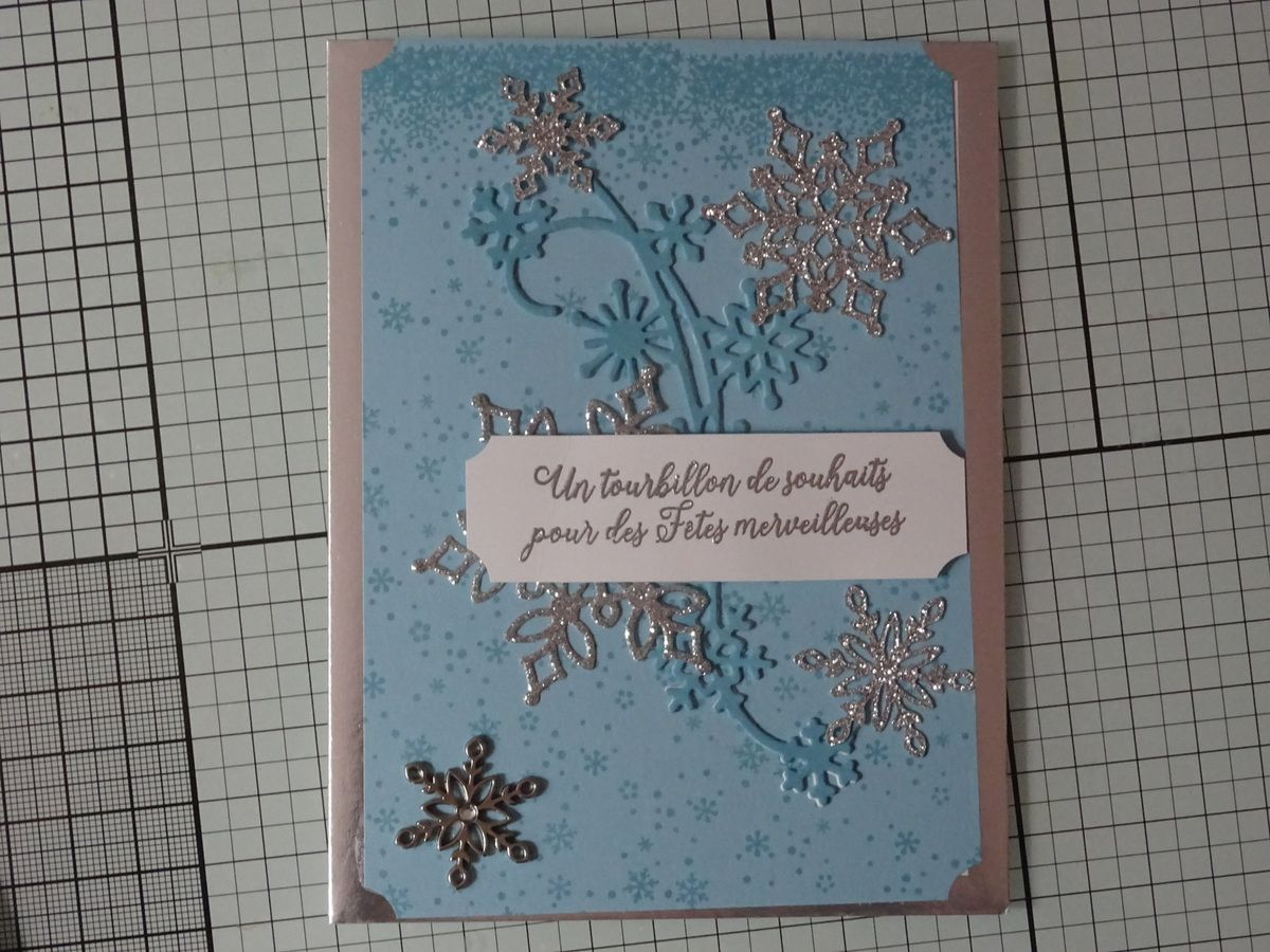 Collection Vitrine de flocons: carte #2