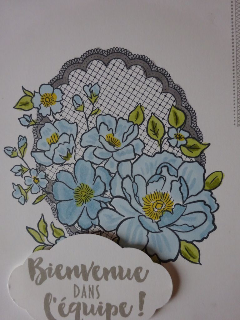 [Stampin'Up!®] set de tampon Lovely Lattice