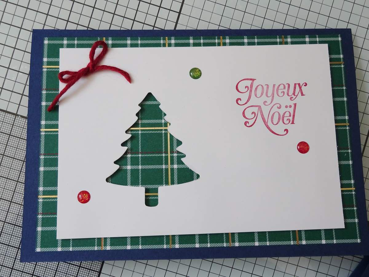 [Stampin'Up!®] collection Cocon à Carreaux