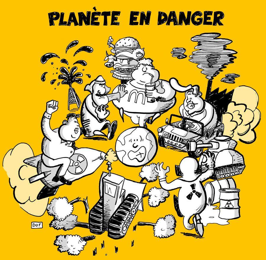 Attention ! Planète en danger