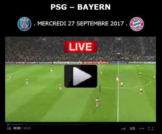 Uefa At At Paris St Germain Fc Bayern München Psg Streaming