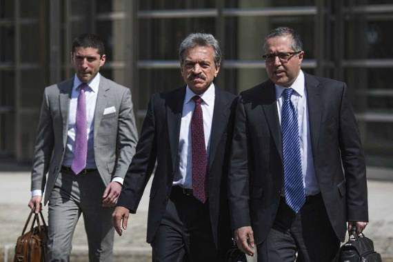 Attorneys representing NXIVM leader Keith Raniere, Mark Agnifilo, right, and Paul DerOhannesian