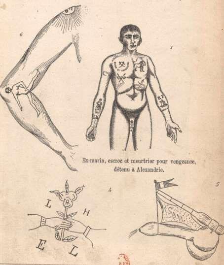 Cesare Lombroso-dessin-psycho-criminologie.com