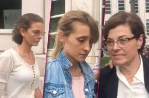 Clare Bronfman, Allison Mack, Nancy Salzman