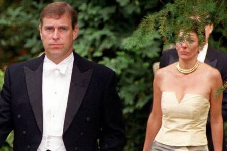 Ghislaine maxwell et le Prince Andrew