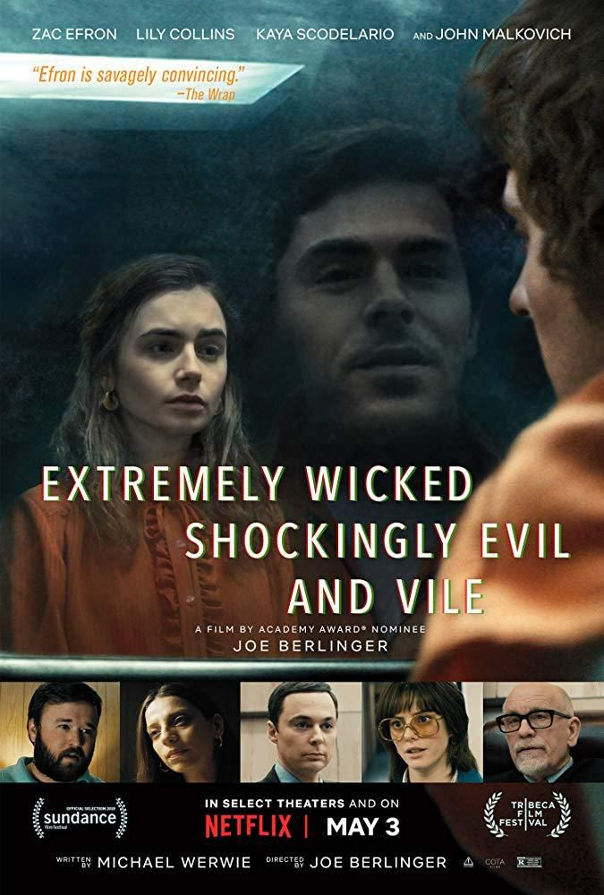 """extremely wicked"" ""affiche"" ""ted bundy"""