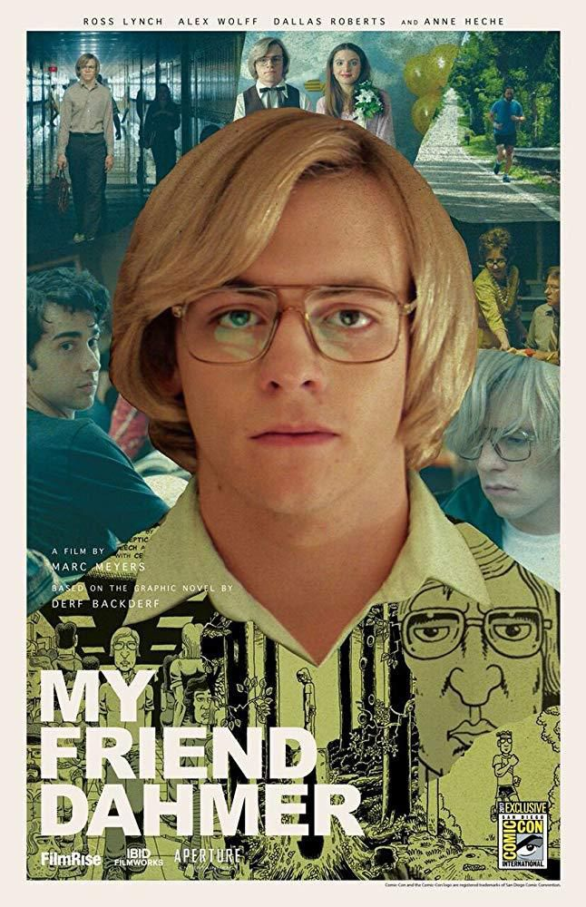 """My friend Dahmer"" ""affiche"" ""psycho-criminologie.com"""