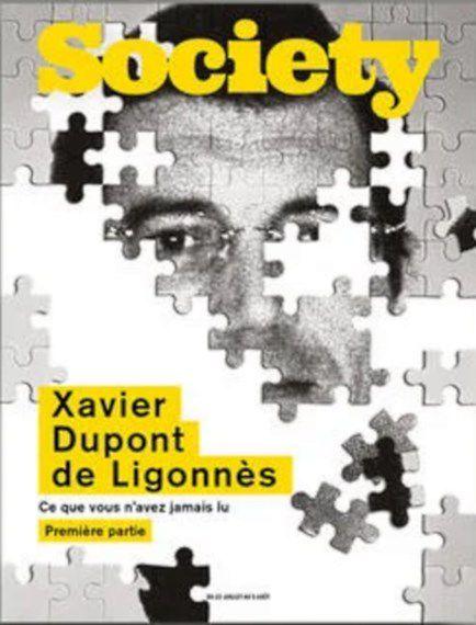 """Une du magazine """"Society"""" avec """"Xavier Dupont de Ligonnès"""" """"www.psycho-criminologie.com"""""""