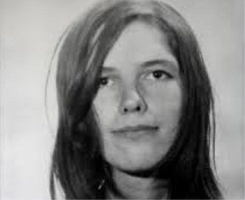 Leslie Van Houten, au moment de son arrestation