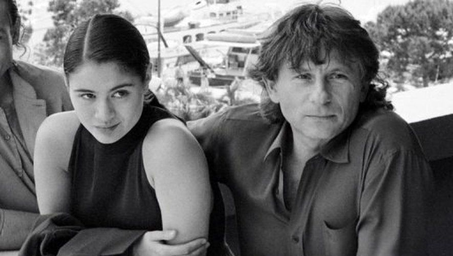 Roman Polanski et Charlotte Lewis, à Cannes en 1986 - Photo : AFP Archives