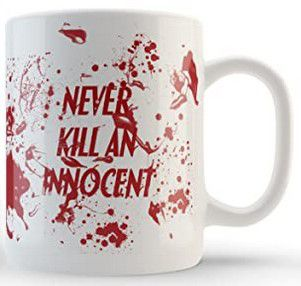 "Mug Dexter ""Never kill an innocent"""
