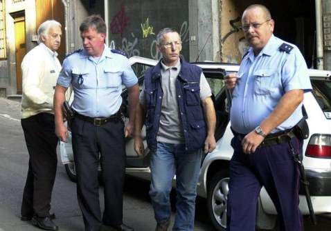 Arrestation de michel fourniret
