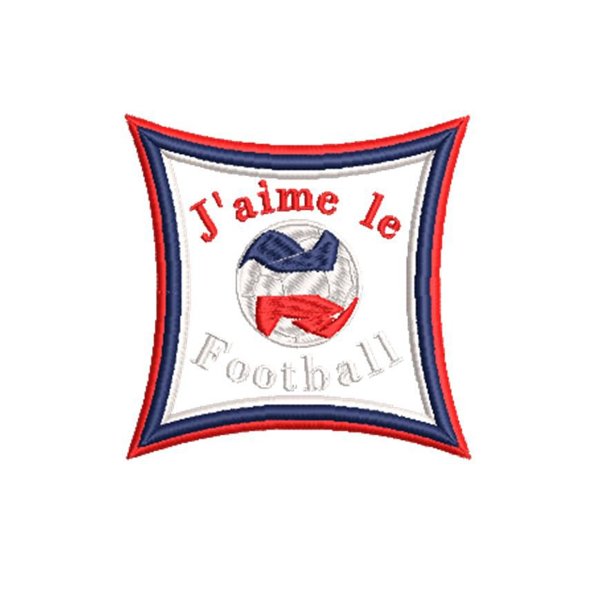 BRODERIE J'AIME LE FOOT