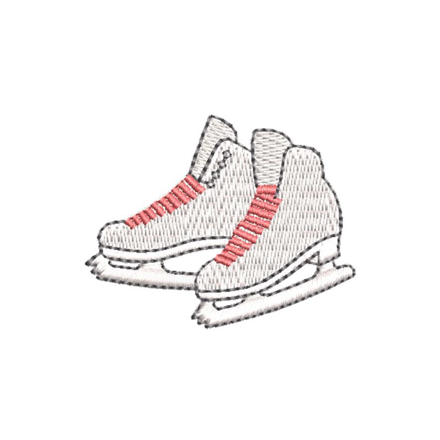 BRODERIE PATINS A GLACE