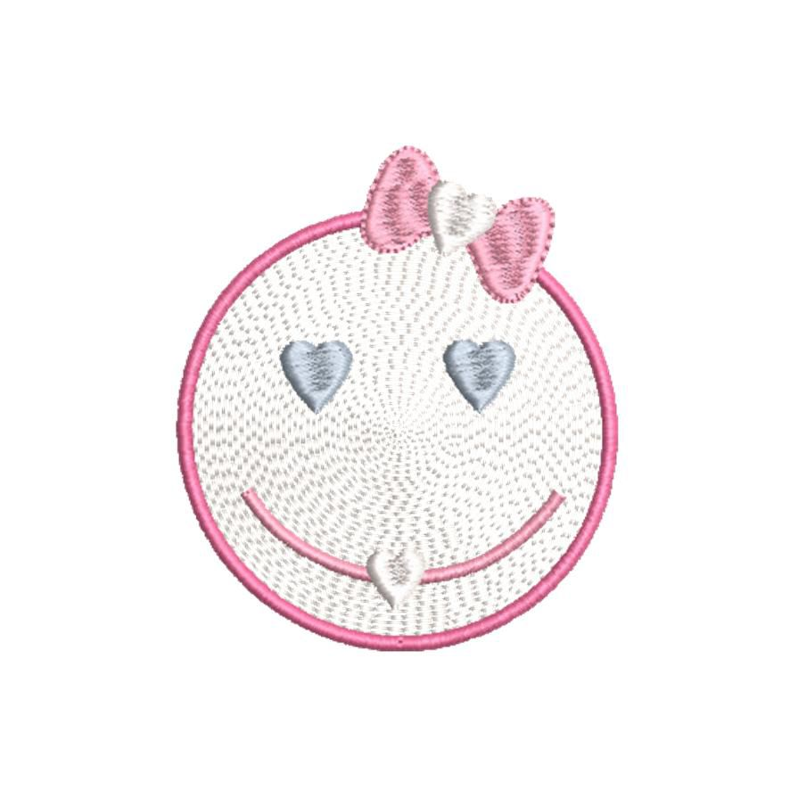 BRODERIE SMILEY COEURS