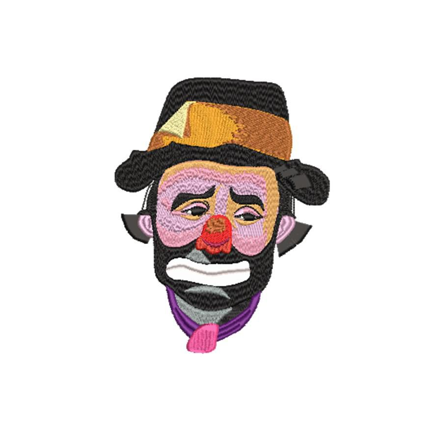 BRODERIE CLOWN BEBEL