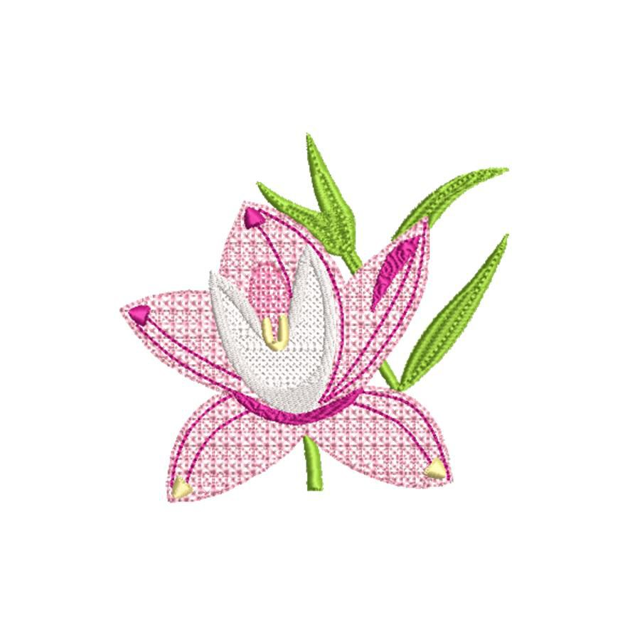 BRODERIE ORCHIDEE