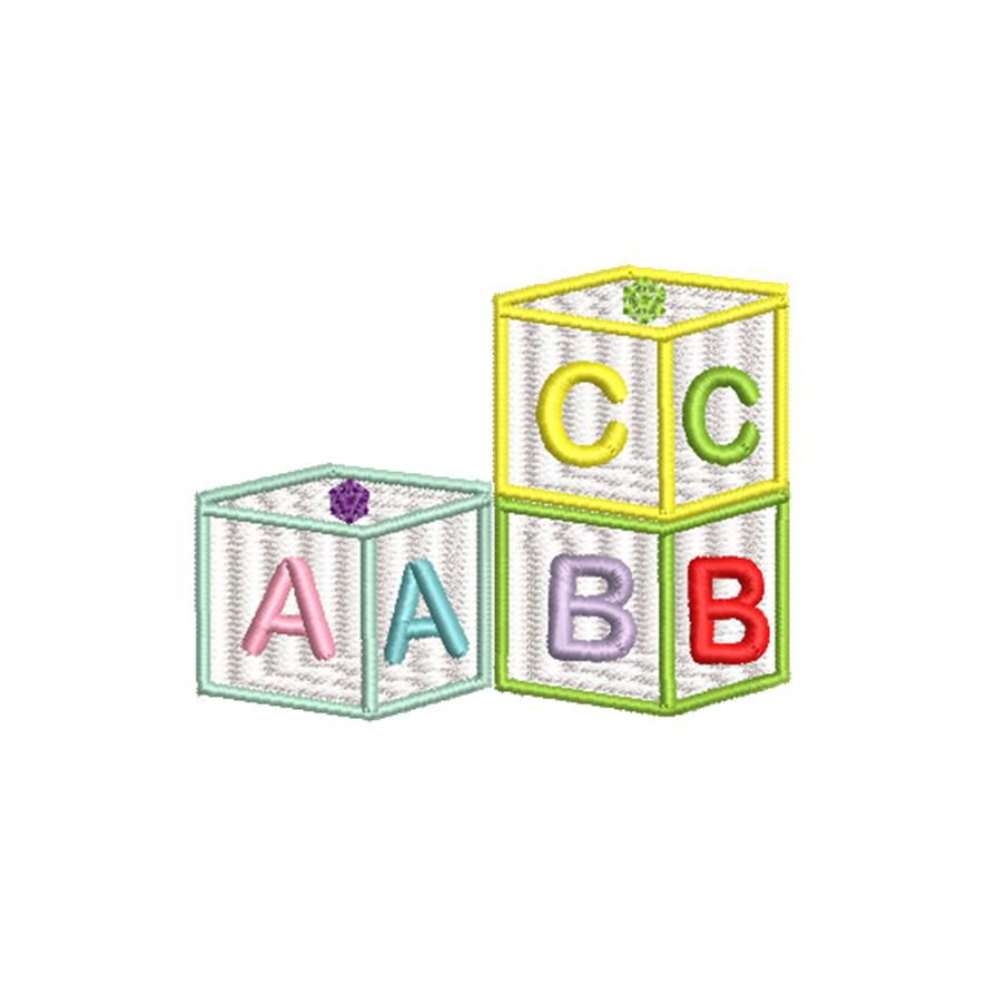 BRODERIE CUBES