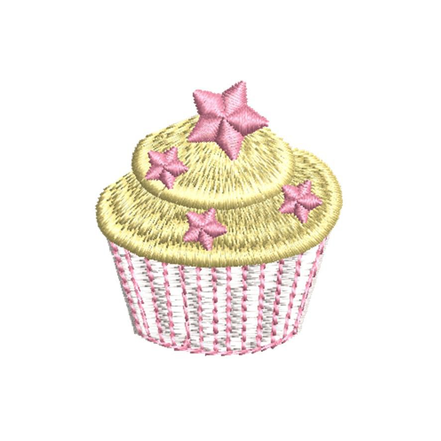 BRODERIE CUP CAKE CITRON