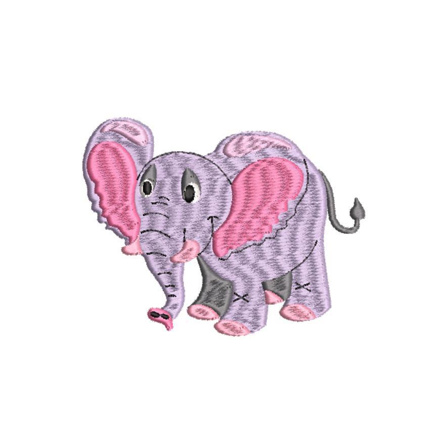 BRODERIE PETIT ELEPHANT