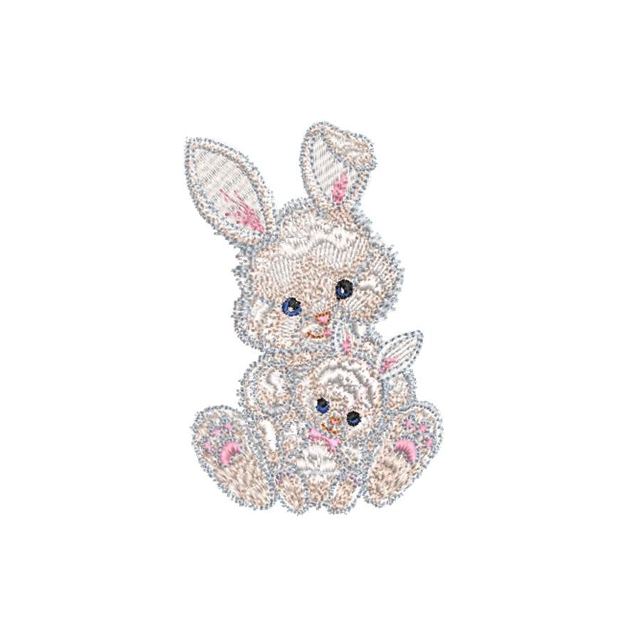 BRODERIE LAPINS