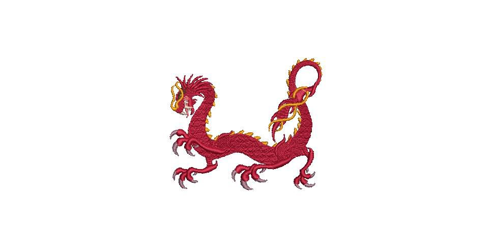 BRODERIE DRAGON