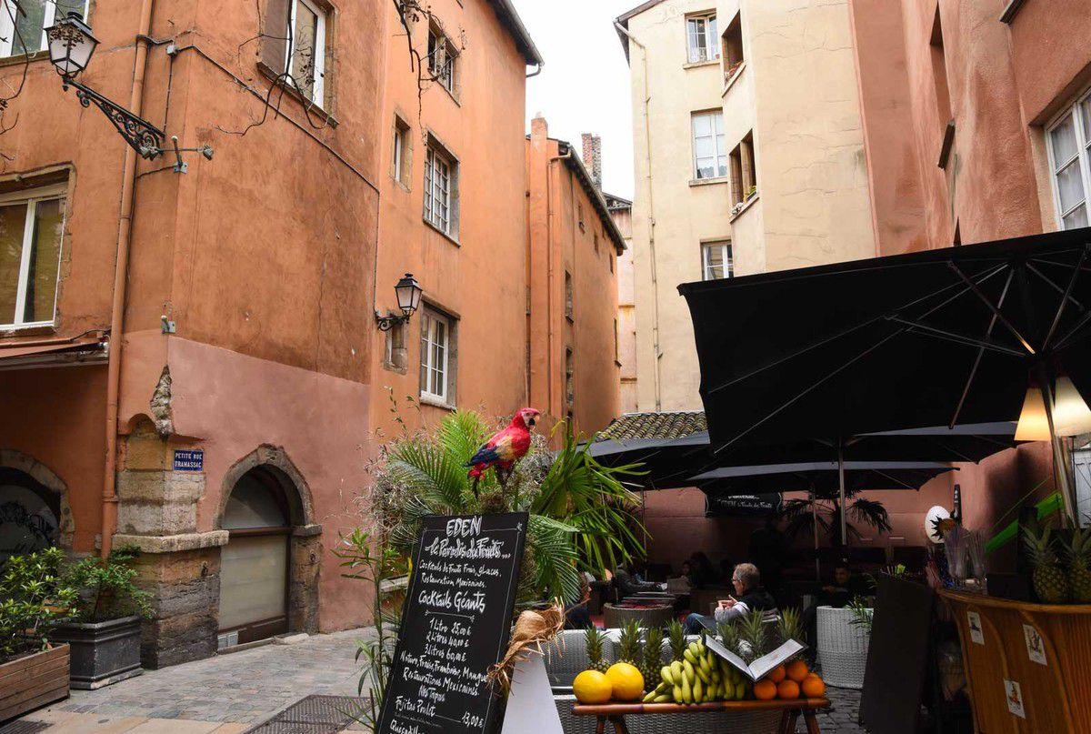 Le Vieux Lyon et ses traboules