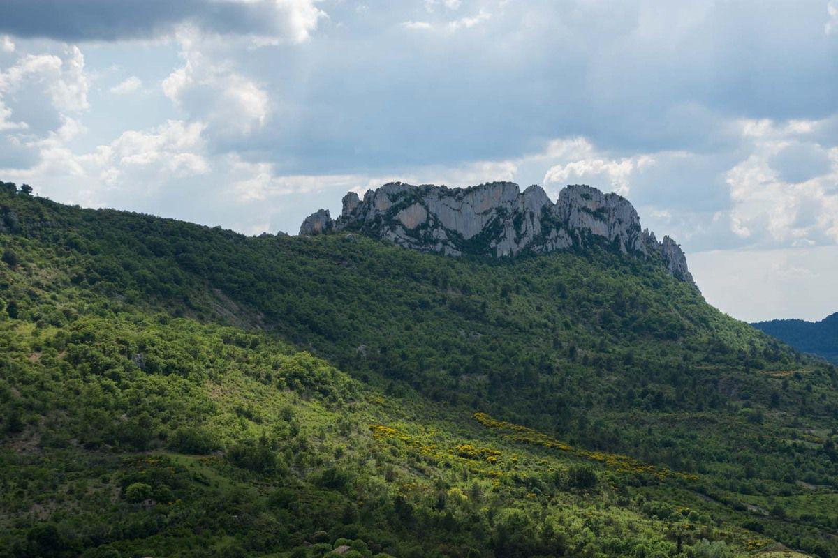 Le rocher Saint Julien - Buis les Baronnies