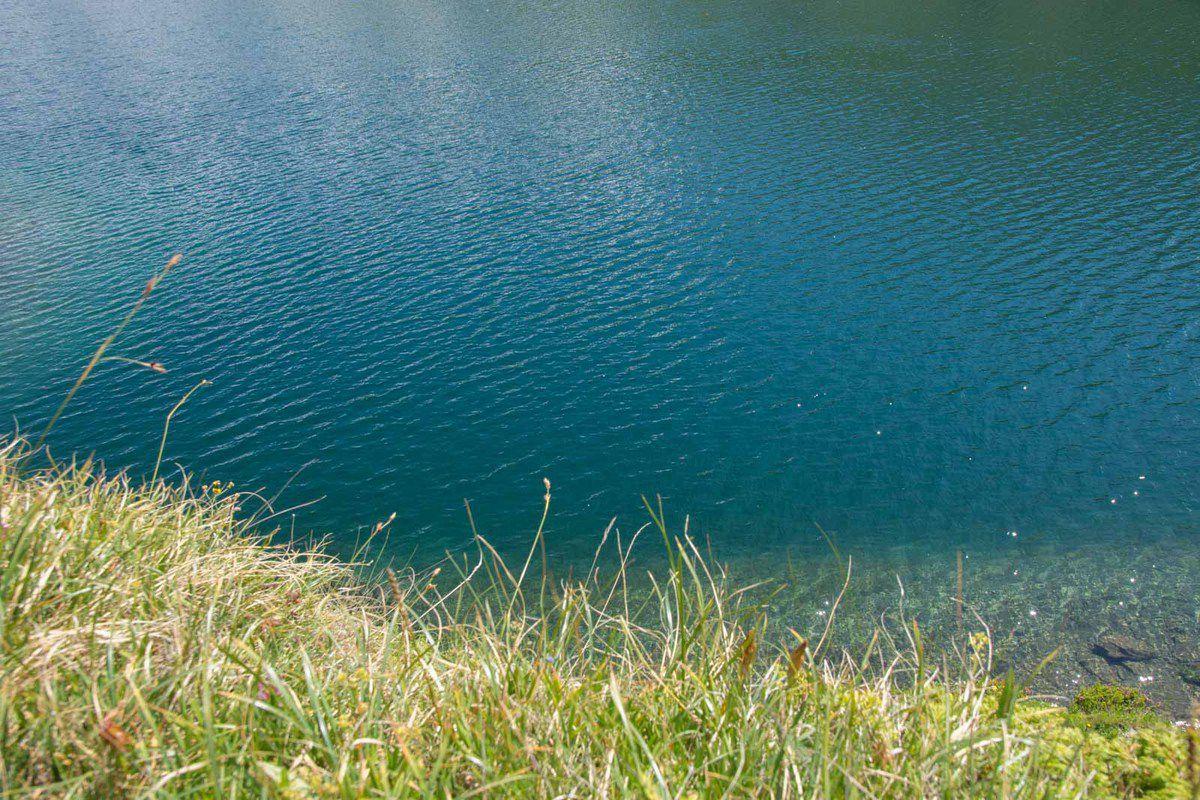 Lac du Lou à la période des Rhododendrons !