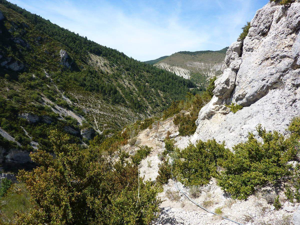 Drome - Chalançon - Via le Pas de l'Echelle Septembre 2016