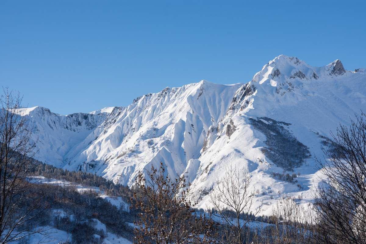 Vallée des Belleville en hiver