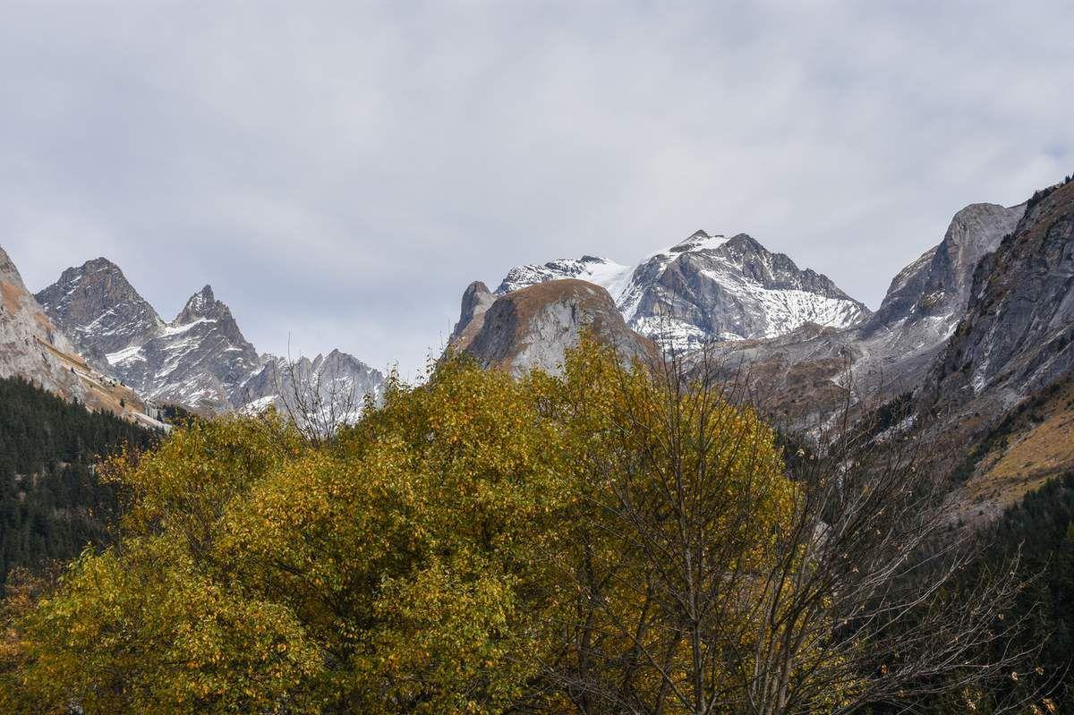 Pralognan la Vanoise en Automne