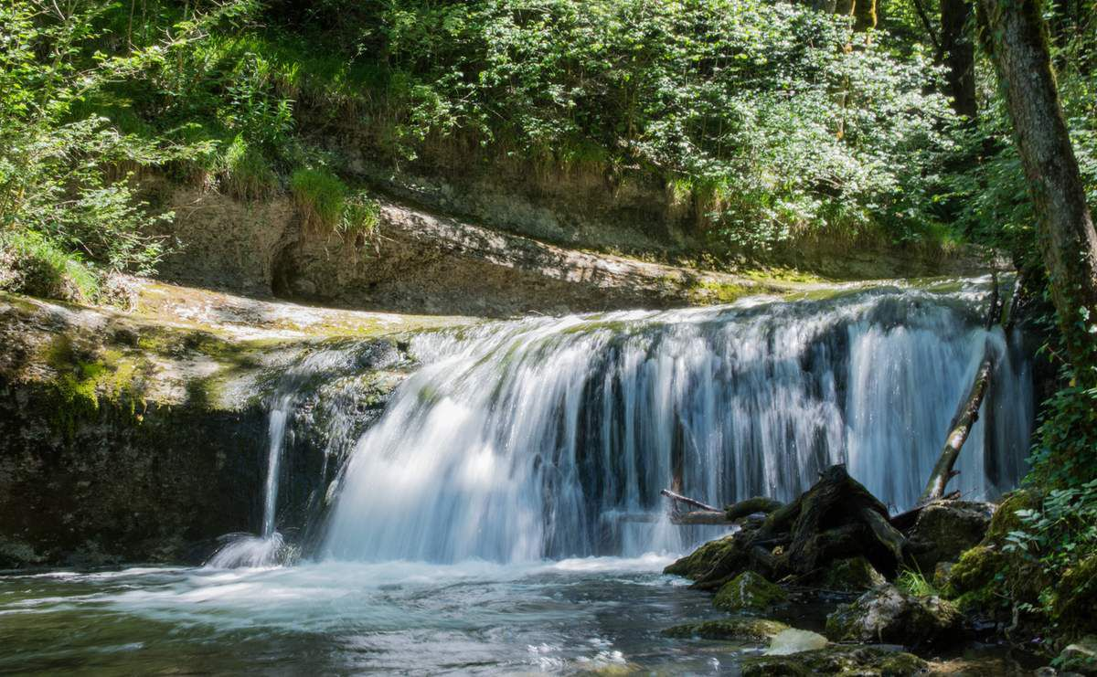 Le sentier et les cascades du Hérisson - Jura