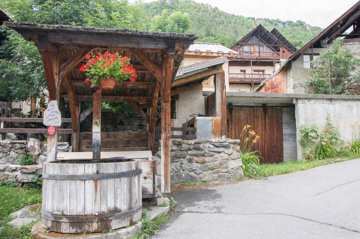 Village de Vallouise Hautes Alpes