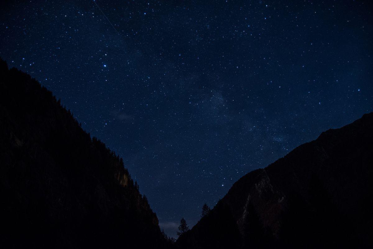 Ciel étoilé - Hautes Alpes