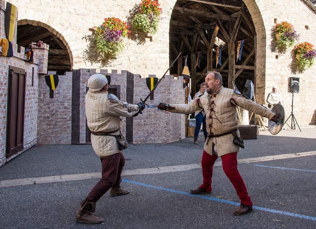 Animations de rue Médiévales de Crémieu
