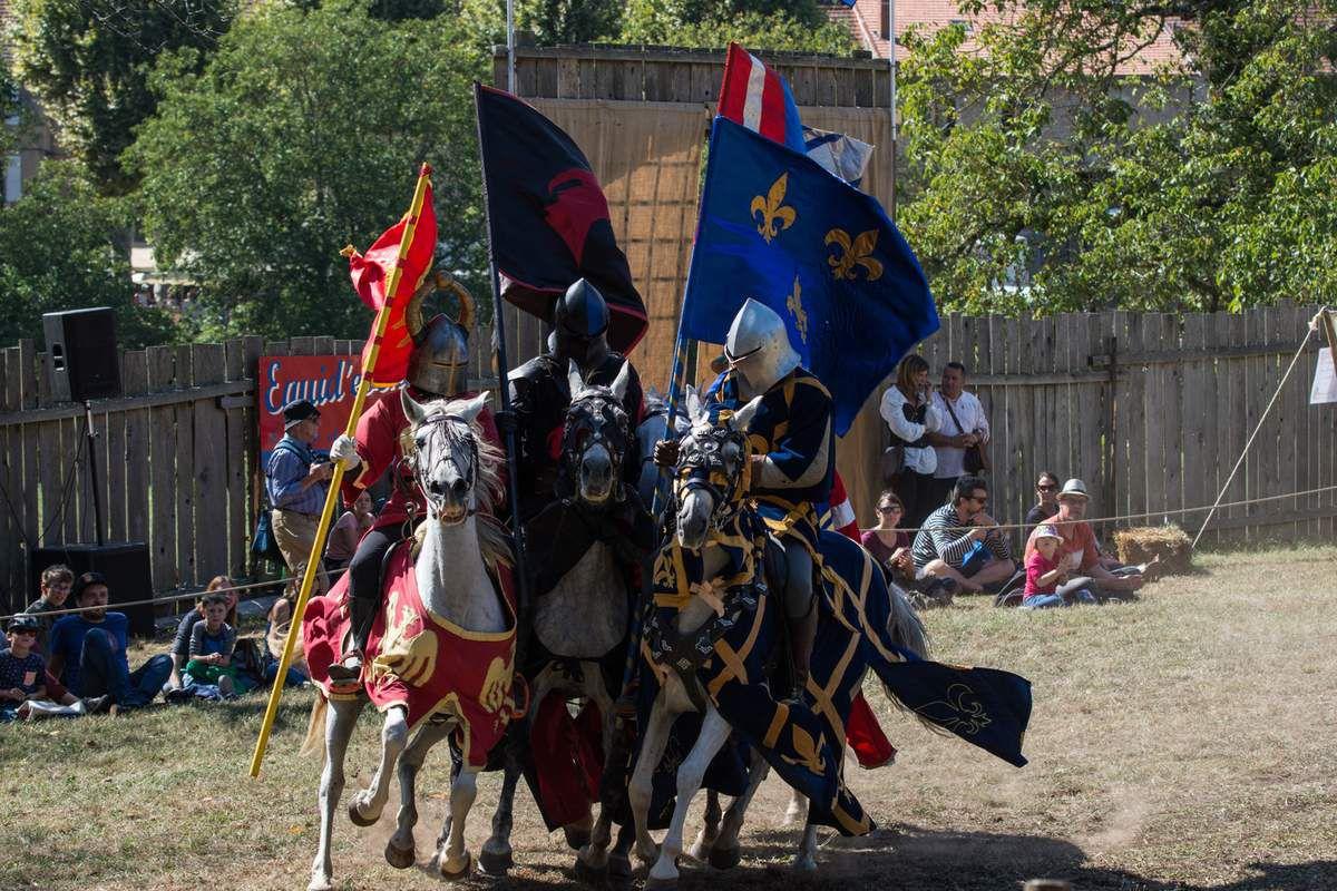 Spectacle de Chevaliers - Médiévales de Crémieu
