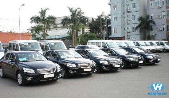 Dàn xe hiện đại của công ty Vân Hải