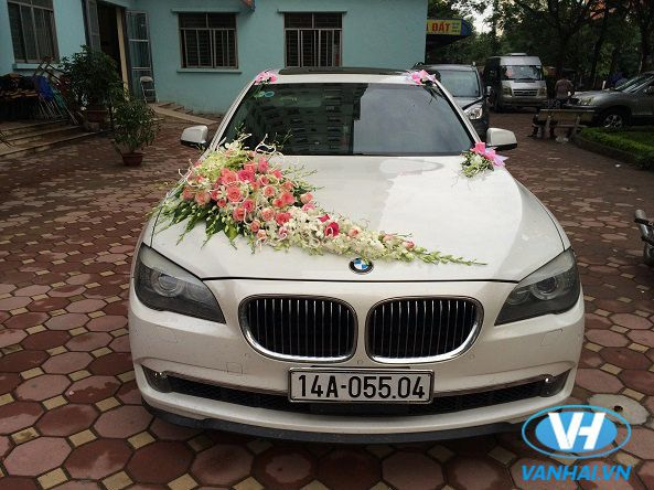 Cho thuê xe cưới BMW giá rẻ tại Vân Hải