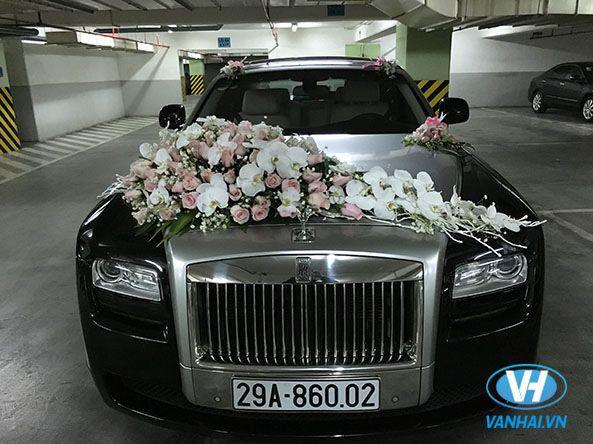 Mẫu xe cưới hiện đại của Vân Hải