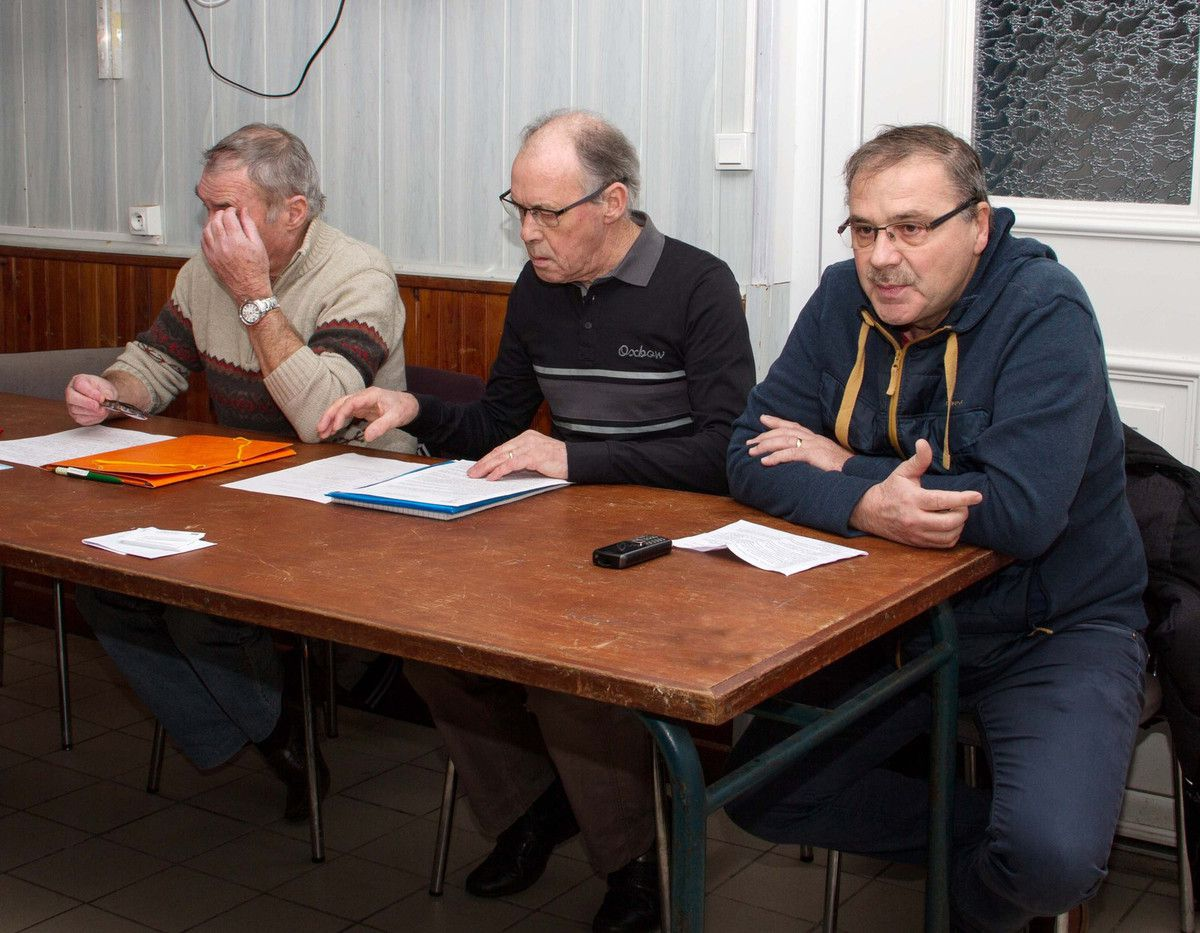 A droite : Claude Gonnin