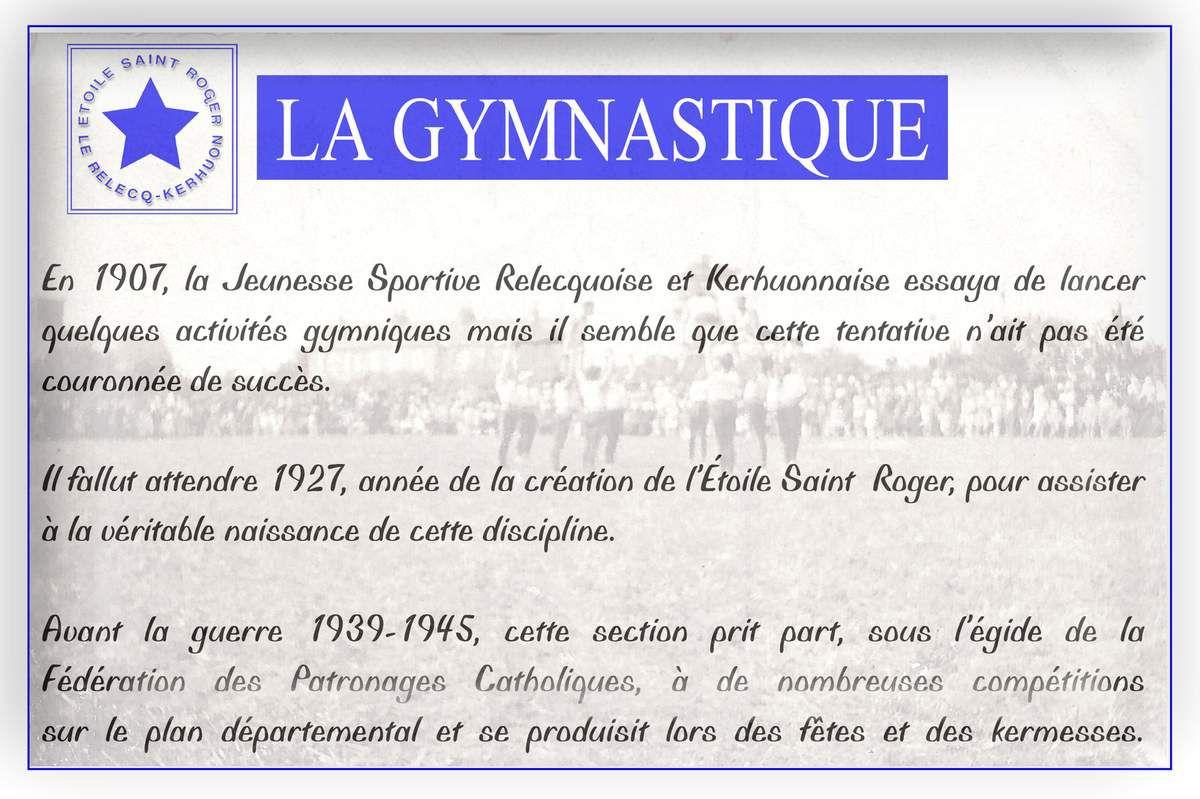 Étoile Saint Roger - gymnastique