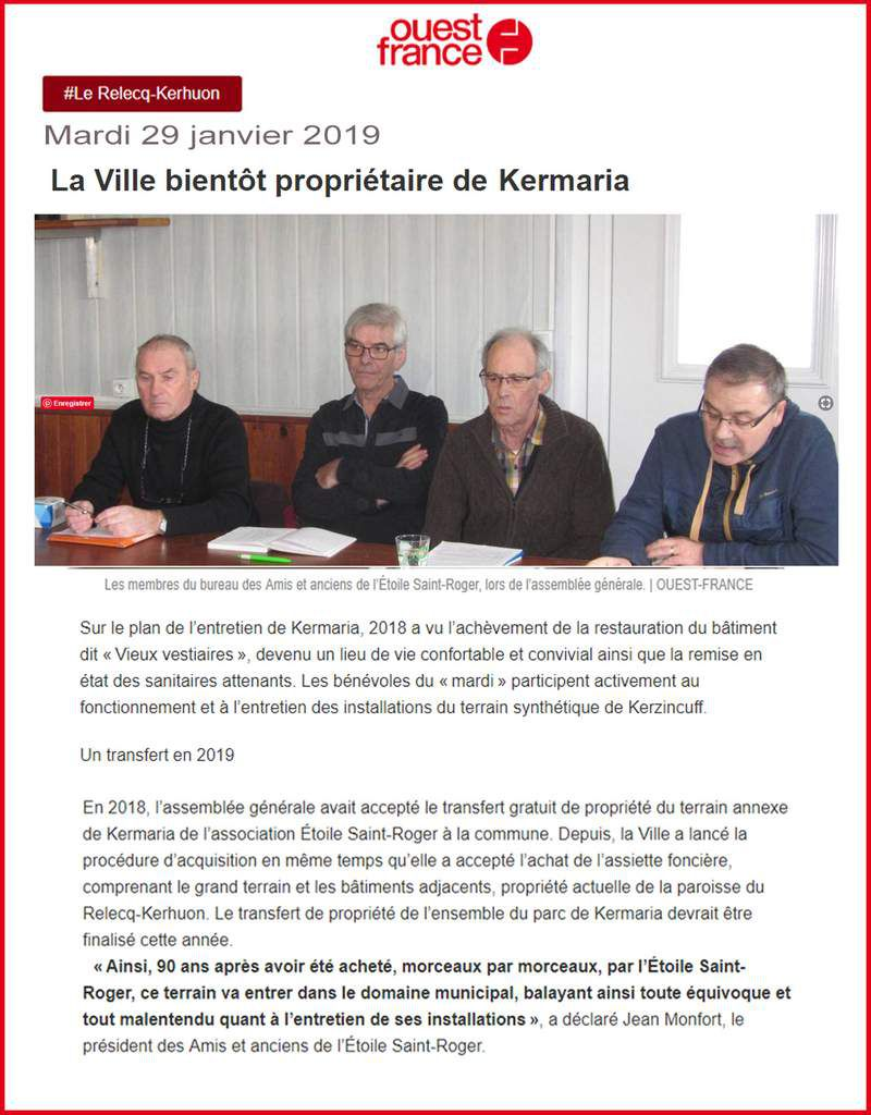 20 JANVIER 2019 - ASSEMBLÉE GÉNÉRALE DES AMIS & ANCIENS DE L'ESR